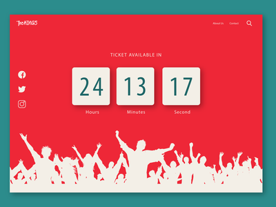 daily ui 014, timer countdown daily ui