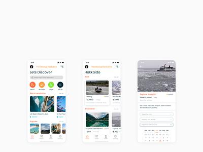 travel ui app