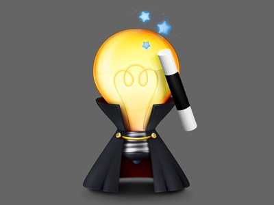 Tips & Tricks icon illustration pixelcloth tricks magic