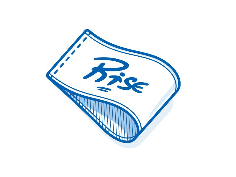 Tag Sticker mule sticker illustration icon rise tag