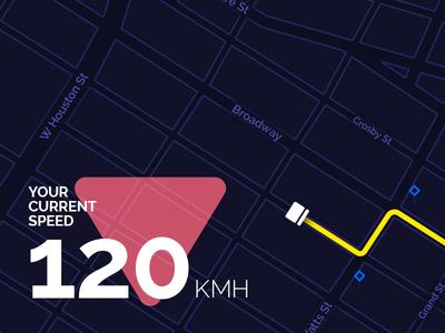 Navigation pins map idea icons drive ui navigation car