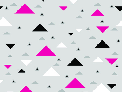 Triangles triangle pattern illustrator background design black grey pink repeat pattern seamless geometric print