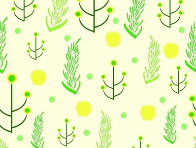 sunflowers flowers textile pattern background design pattern repeat pattern seamless illustrator