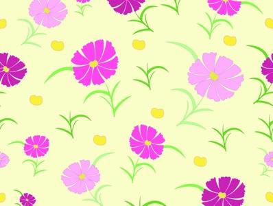 pink flowers flowers textile pattern background design pattern repeat pattern seamless illustrator