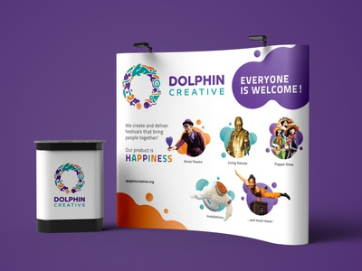 Dolphin Creative Trade Booth