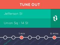 Subway ETA