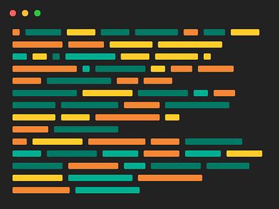 Editor preview minimal flat code vector ui source code editor codepen web design