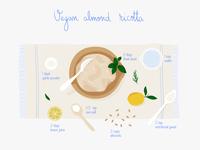 Vegan almond ricotta recipe