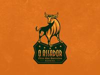 O Assador logo design