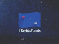 #SerbiaFloods serbia serbiafloods flooding serbian flag flag catastrophe help thank you