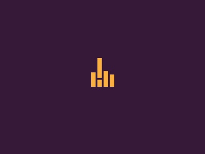 Hi  logo logo design logotype logo designer freelance logo designer simplicity minimal middle finger clean