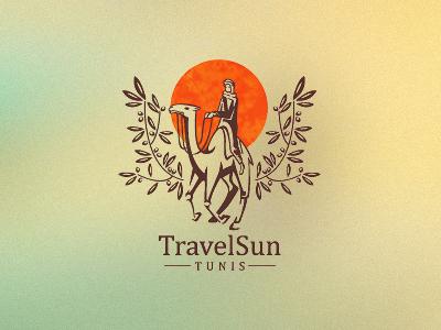Travelsun logo design