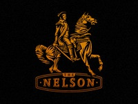 The Nelson logo design