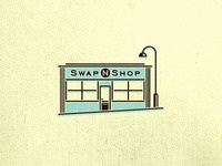 Swap N Shop logo design