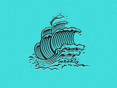 Wip Ship Logo Design wizemark srdjan kirtic logo logo design logo designer freelance freelance logo designer ship illustration illustrative negative space wave waves surf clothing apparel tee tees t-shirt surfboard board blue