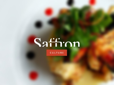 Saffron Culture logo design wizemark srdjan kirtic logo logos logo design logo designer freelance freelancer freelance logo designer logotype type typography custom type