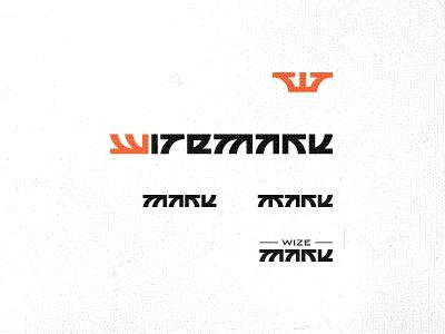 Wizemark logo exploration wizemark srdjan kirtic logo logos logo design logo designer freelance freelancer freelance logo designer crown type typography custom type