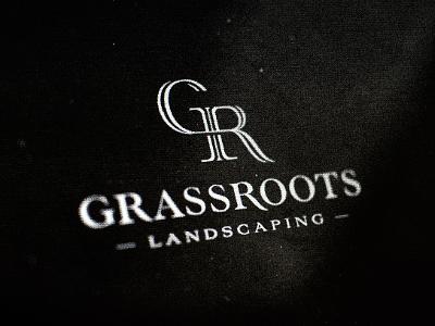 GR monogram  wizemark srdjan kirtic logo logos logo design logo designer freelance freelancer freelance logo designer type typography monogram landscaping