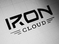 IronCloud logo design