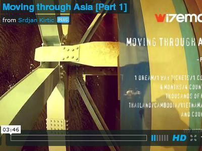Moving through Asia video + CX meet-up poster wizemark srdjan kirtc video vegas poster