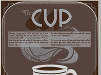 coffee info pamphlet