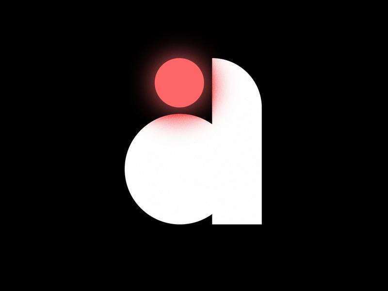 a flat design minimal illustrator illustration vector type art type design typedesign typeface letter a a lettering letter typography type