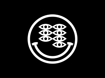 seele.studio seele logo brand blackandwhite eyes smiley face smiley icon illustrator illustration vector