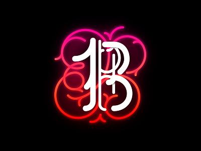 B letter b typography design typeface type illustrator illustration vector lettering logo lettering art lettermark capitular lettering letter