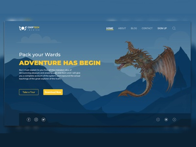 Dragon Game app design mobile app design typography web branding design uiuxdesign illustrator ux
