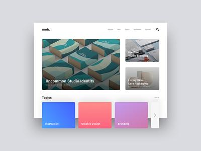 Daily UI - Landing Page web design web ux user experience ui design ui