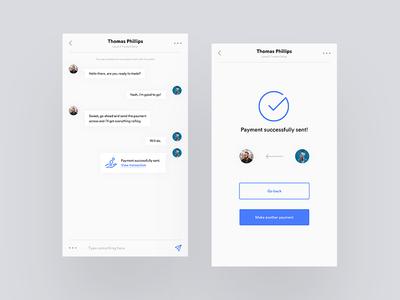 Daily UI - Direct Messaging web design web ux user experience ui design ui