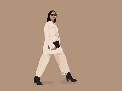 Fashion girl design postrait art portraits illustrator illustration fashion illustration art fashion