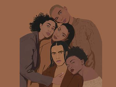Black Lives Matter africans african woman african illustration art illustrations illustration black and white black blacklivesmatter