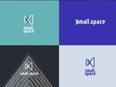 Xmall.Space logotype logotypes branding design branding ui design ui it identity identity design logo design logotype logo