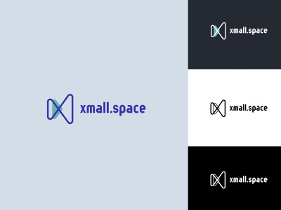 Xmall.space logotype graphic design illustration web app vector icon agency graphic design branding logotypes identity branding ui ux identity logo design logotype logo
