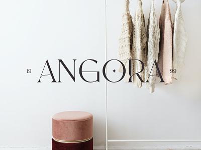 Angora Logotype brand logotype design logofolio logodesign logotype logo typography branding design fashion identity branding design