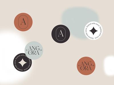 Angora identity wool clothing identity branding design graphic design logo design logotype logo