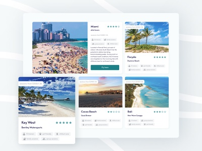Link Adventures — Proposed locations locations ux surfing ocean ui design