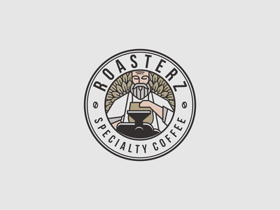 VINTAGE LOGO COFFEE ROASTER