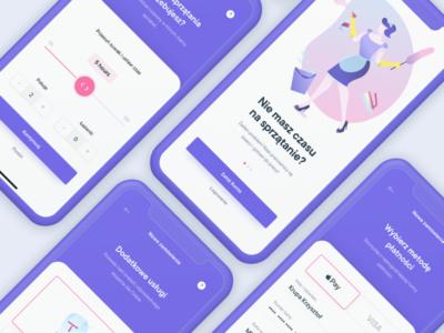 Pozamiatane.pl app redesign