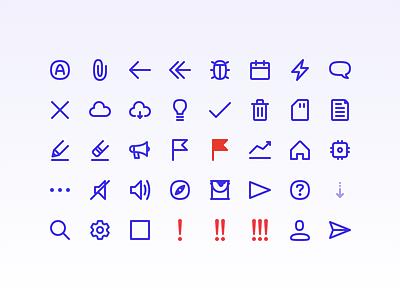 Operam Icons icon design icon family icon