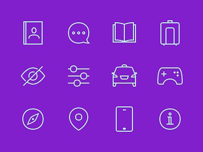 Continuing icon experimentations visual design icon design startup bank fintech minimalism visual icon