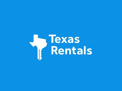 Texas Rentals Logo visual identity logo design identity icon symbol logo