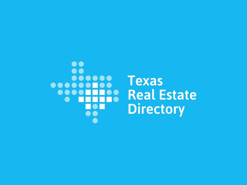 Texas Real Estate Directory Logo visual identity logo design identity symbol logo