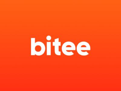 Bitee Logo logo design gastronomy food typography logo
