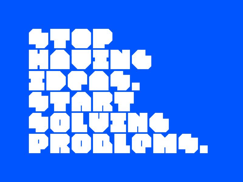 Planic typeface 2