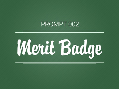 Dribbble prompt 002 marcella jalbert merit badge