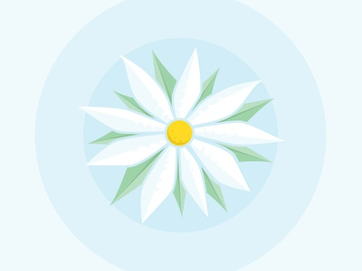 Daisy, Daisy Give Me Your Heart To Do daisy flower flowers equinox spring illustration icon exercise prompt prompt003