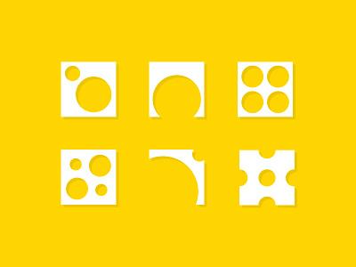 Principles of Design: Icon Set prompt005 exercise icon set icon badge creative principles of design principles fundamentals