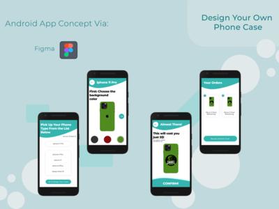 Design Your Own Phone Case (Concept)